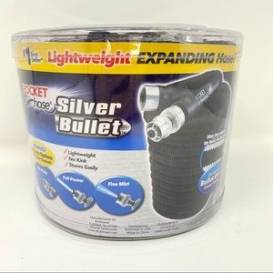 50' Pocket Hose Silver Bullet